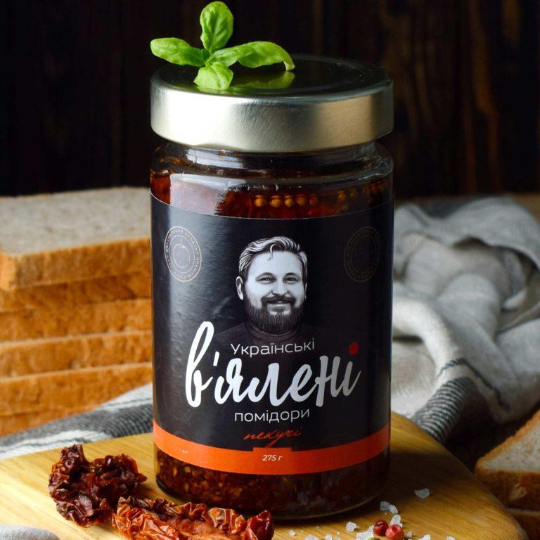 В'ялені томати Пекучі 275 г